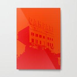 Venezia Red by FRANKENBERG Metal Print
