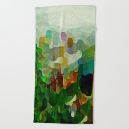 City Park Beach Towel