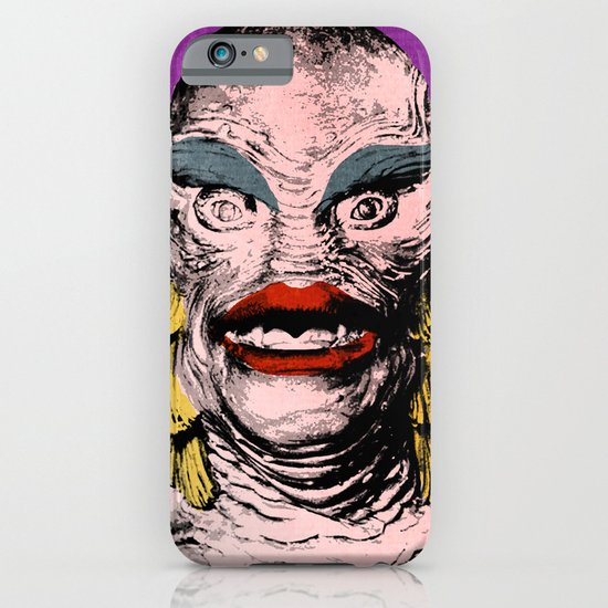 The Gorgeous Gill Man from the Black Lagoon iPhone & iPod Case