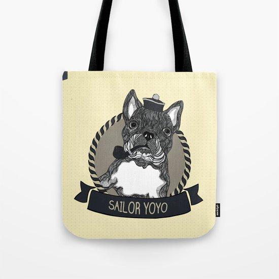 Sailor YOYO Tote Bag