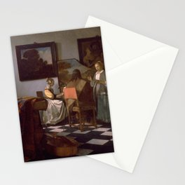 Johannes Vermeer - The Concert Stationery Cards