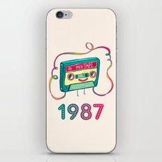 1987 iPhone & iPod Skin