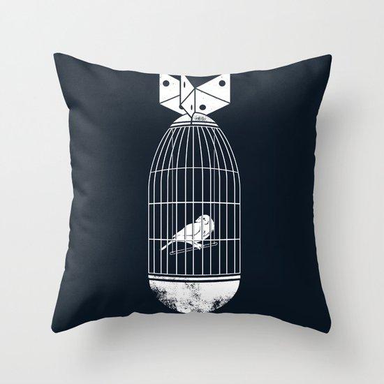 war prisoner Throw Pillow