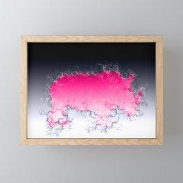 Splash Rhino Framed Mini Art Print