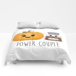 Pumpkin + Spice = Power Couple Comforters