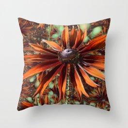 Not so Rude Rudbeckia Throw Pillow