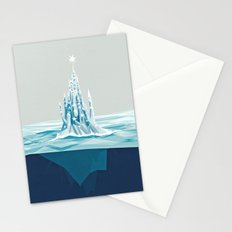 Iceberg castle Stationery Cards