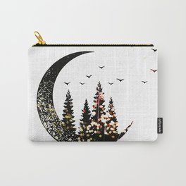 Half Moon forest Carry-All Pouch