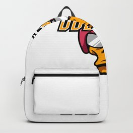 Angry Duck Rider Mascot Sport Gaming Esport Logo Template Streamer Squad Team Club Backpack