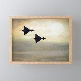 Euro Fighters Framed Mini Art Print