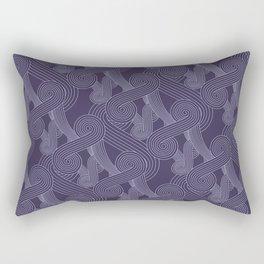 Quarian Swirls Rectangular Pillow