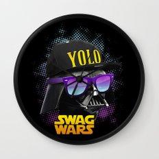 Darth Vader Swag Wall Clock
