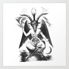 Baphomet - Satanic Church Art Print