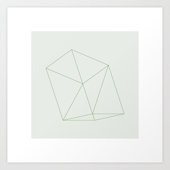#101 Scaffolding – Geometry Daily Art Print