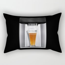 beer dispenser Rectangular Pillow