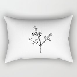 Wildflower in the Meadow Rectangular Pillow