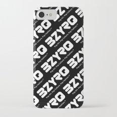 BZYRQ Logo (White on Black) Slim Case iPhone 7