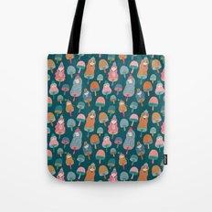 Pattern Project #49 / Mushroom Girls Tote Bag
