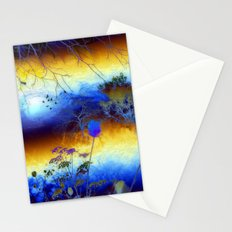 ABSTRACT - My blue heaven Stationery Cards