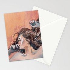 Flavor of orange Stationery Cards