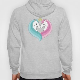 Unicorn heart Hoody