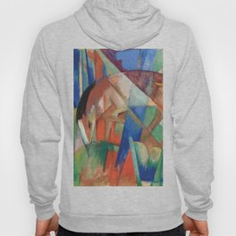 """Franz Marc """"Fabulous Beast II (also known as Horse)"""" Hoody"""