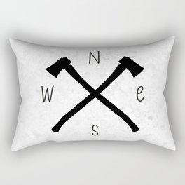 compass & axes Rectangular Pillow