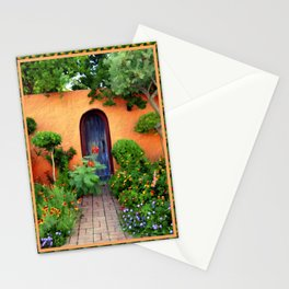 Garden Delights, Mesilla, NM Stationery Cards