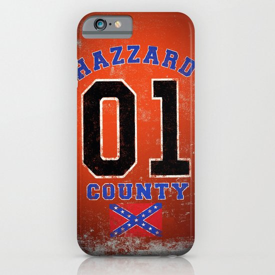 The Duke's a Hazzard! iPhone & iPod Case
