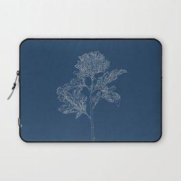 Chrysanthemum Blueprint Laptop Sleeve
