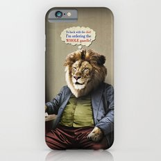 Hungry Lion iPhone 6s Slim Case