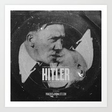 Parachute Journalists - Hitler Art Print