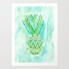 Pineapple of Delight Art Print