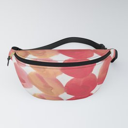 11  | 190408 Red Abstract Watercolour Fanny Pack