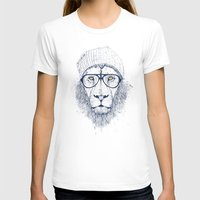 T-shirts featuring Cool lion by Balazs Solti