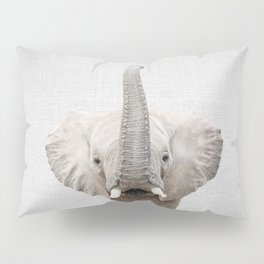 Elephant 2 - Colorful Pillow Sham