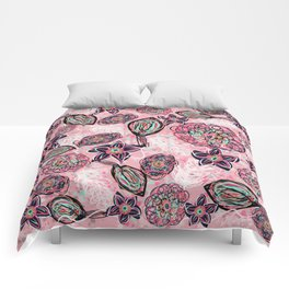 Blush blush Comforters