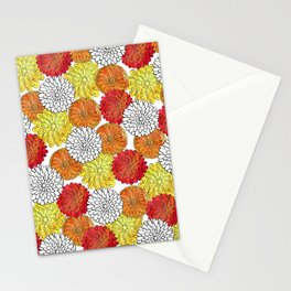 Dahlia Garden Summer Stationery Cards