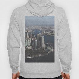 NYC Downtown Aerial Hoody