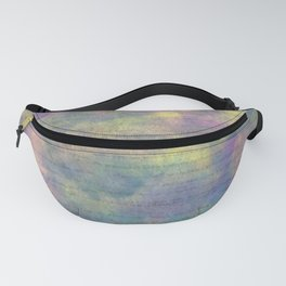 Bold Watercolor Words 5 Fanny Pack