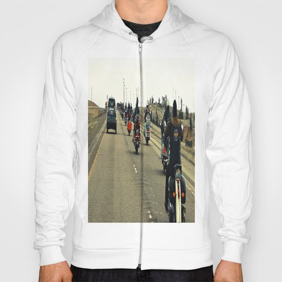 Who Owns The Road Here? Hoody