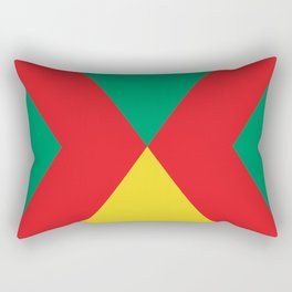 Another Hourglass, or some symbol of some kind i don't know... Triangles etc... Rectangular Pillow
