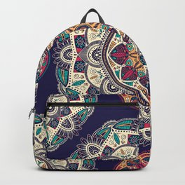 Colorful Mandala Pattern 007 Backpack