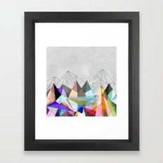 Colorflash 3 Framed Art Print