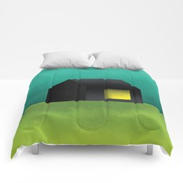 Simple Housing   House in a lowland Comforters