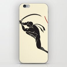Ninja! Heads will roll! iPhone & iPod Skin