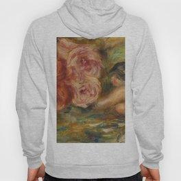 """Auguste Renoir """"Roses et Étude de Gabrielle"""" Hoody"""