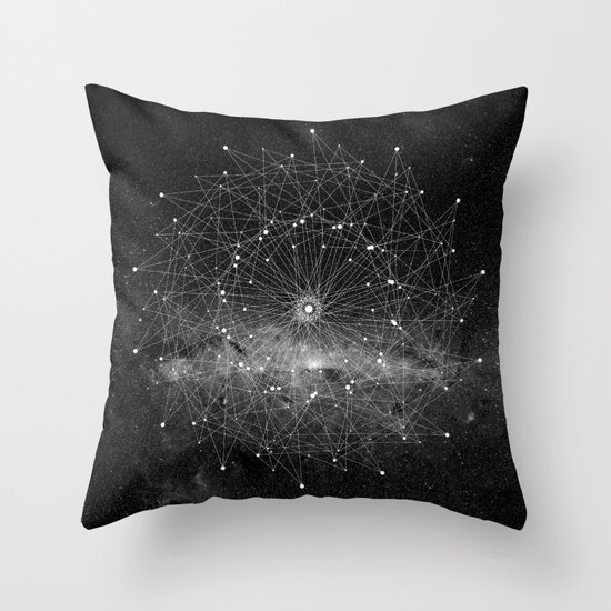 STARGAZING IS LIKE TIME TRAVEL Throw Pillow