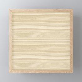 Maple Wood Texture Framed Mini Art Print