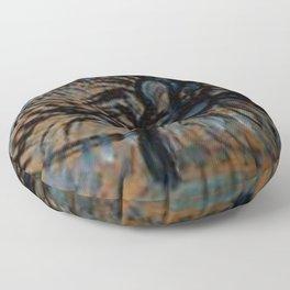 Piet Mondrian - Apple Tree, Pointillist Version Floor Pillow